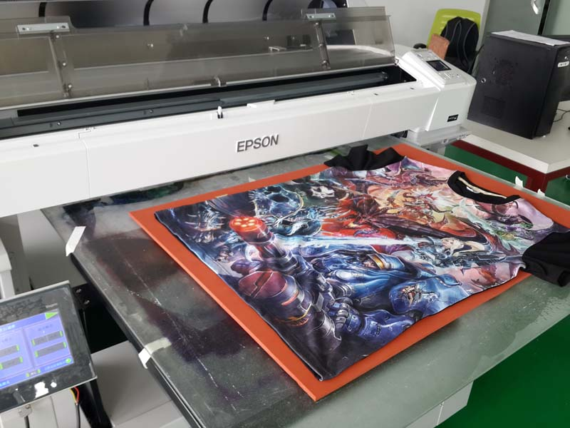 Focus Industrial t-shirt inkjet printer - China Focus